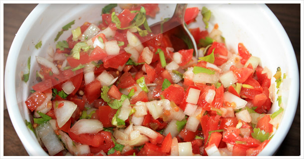 """Pico De Gallo"" Salat"