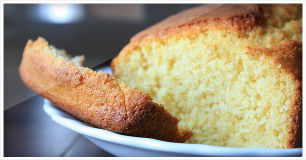 Golden, sweet and homemade cornbread