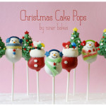 Christmas Wonderland Cake Pops: Stockings, Penguins, Santa Hats, Holly Leafs, Christmas Trees and more!