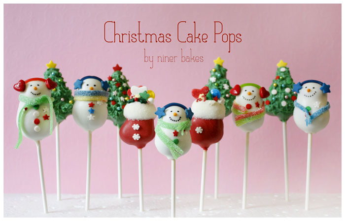Christmas Wonderland Cake Pops: Stockings, Snowmen, Penguins ...