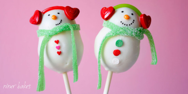 {Christmas} Snowman Cake Pops reloaded