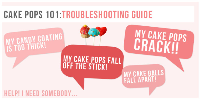 Cake Pops 101: Troubleshooting Guide