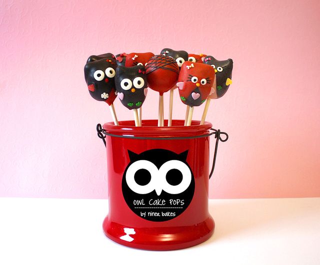 Cute Owl Cake Pops