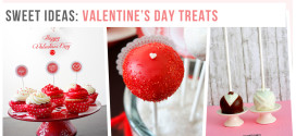 Sweet & yummy ideas for Valentine's Day treats!