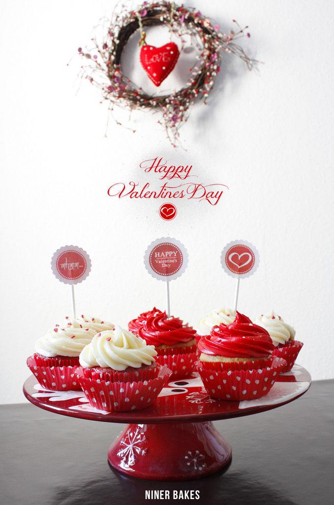 Einen tollen Valentinstag für Euch und eure Liebsten - Valentinstag Cupcakes