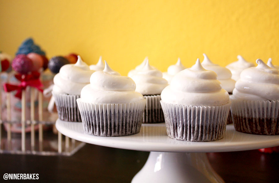 Yummiest OREO Surprise Chocolate Cupcakes with Marshmallow Frosting