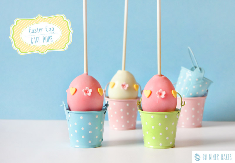 Pics Photos - Easter Egg Cake Pops Happy Easter Treats Niner Bakes
