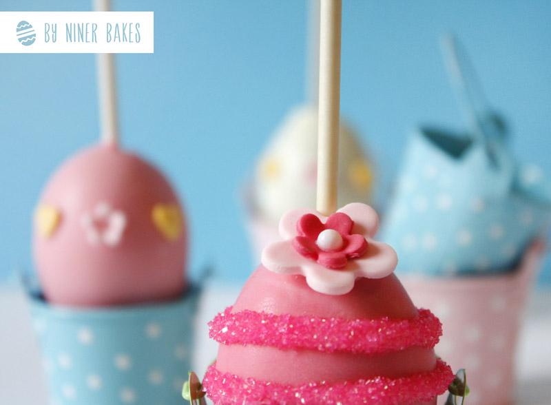 Äußerst Eggcelent: Einfache Ostereier Cake Pops - Osterei Cake Pops - niner bakes