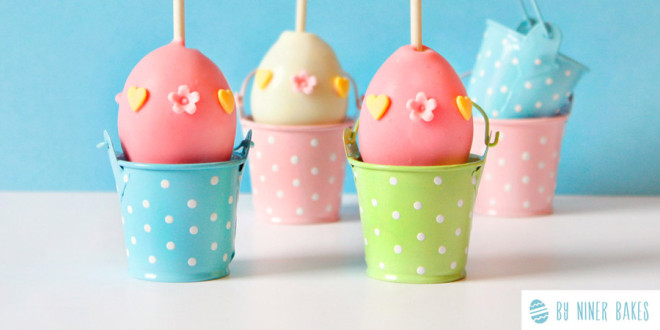How Eggcelent: Simple Easter Egg Cake Pops!
