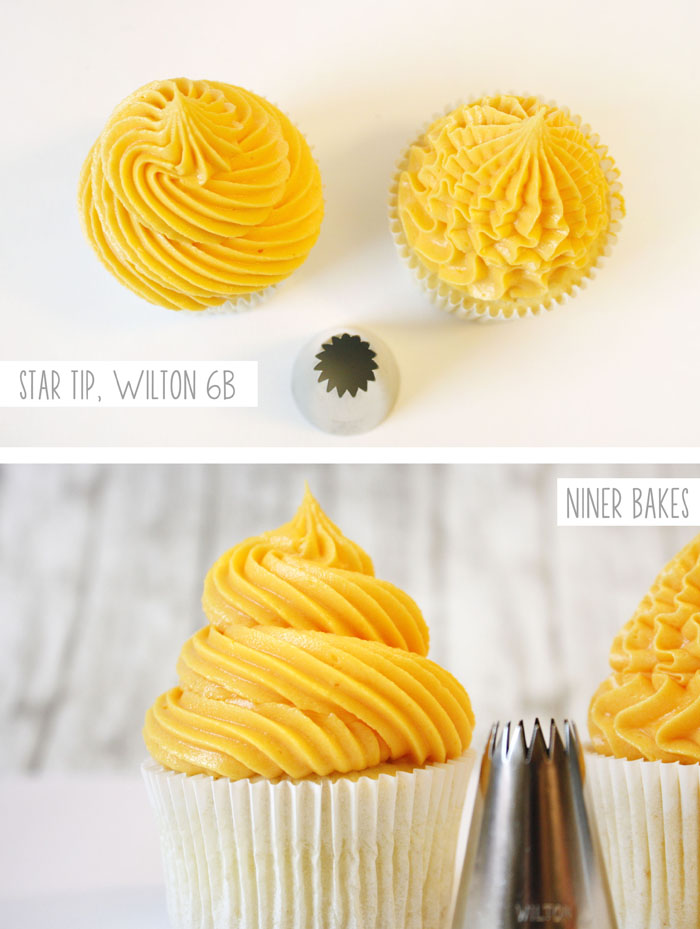 Cupcake Decorating} Basic Icing/Frosting Piping Techniques: How to ...