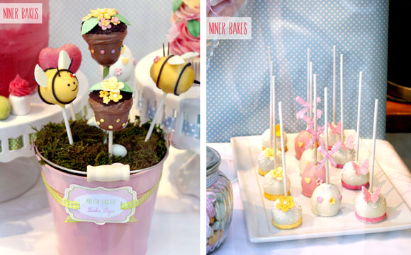 Sweet Table Easter Candy Bar Bunny Cake Pops Tutorial