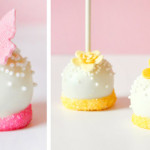 Spring is here: Very simple Flower & Butterfly Cake Pops