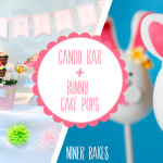 {Sweet Table} Oster Candy Bar + Oster Hasen Cake Pops Tutorial