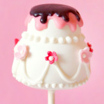 {Tutorial} Let's Get Married – Wedding Cake – Cake Pops