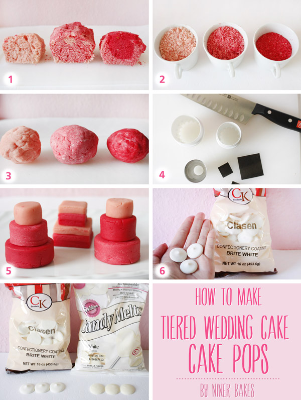 how to make a cake pop wedding cake