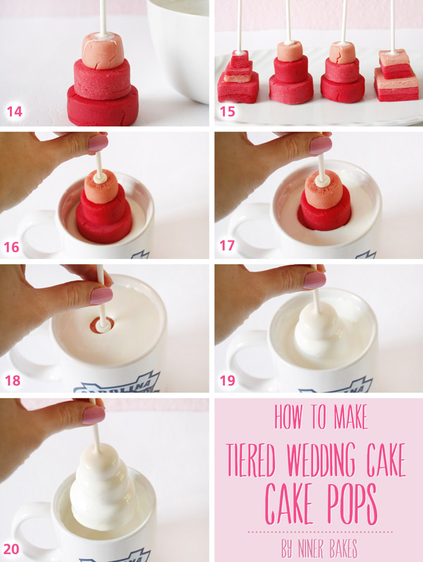 Tutorial How To Make Wedding Tiered Cake Pops By Niner Bakes