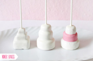 HOW 2: How to make Tiered Wedding Cake – Cake Pops