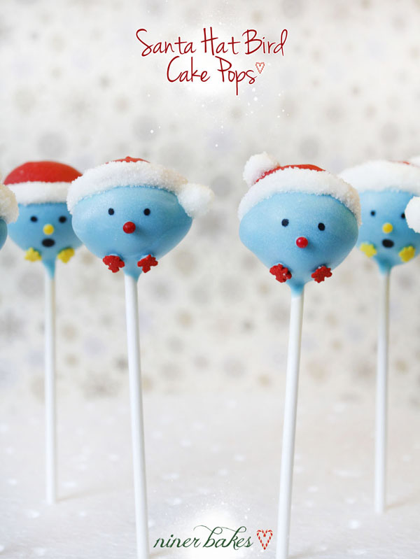 bird cake pops tutorial by niner bakes