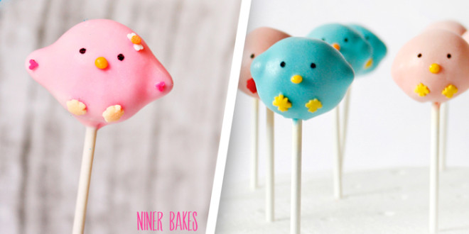 {Happy Spring} Cute Bird Cake Pops Tutorial