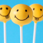 smiley cake pops by niner bakes