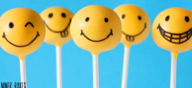 Glückliche Gesichter! Happy Smiley Cake Pops Tutorial