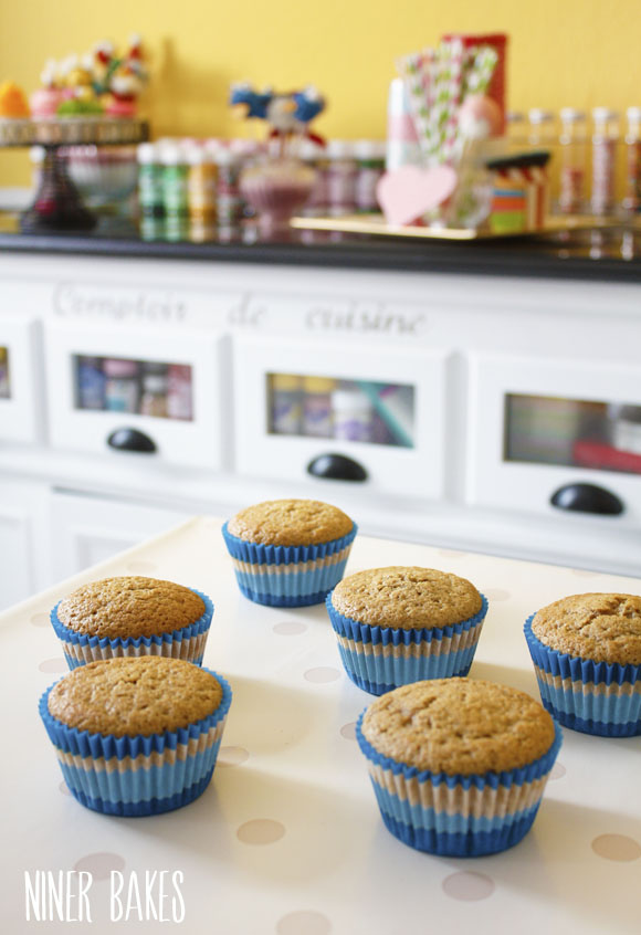 Healthy, absolutely yummy tasting Vanilla Cupcakes Recipe by niner bakes