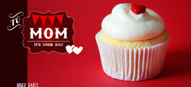"{Mother's Day} Let your ""heart"" speak with yummy Vanilla Cupcakes"