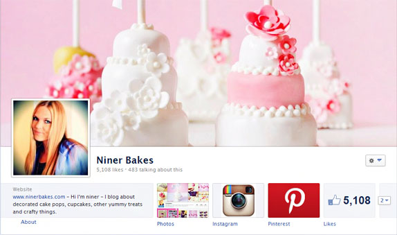 Win a lovely cake plate! Thanks for 5000 Likes on Facebook! niner bakes facebook page