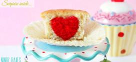{Für mein Lieblingsmädchen} Süße Herz Überraschungs Cupcakes