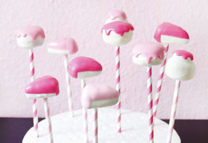 Birthday cake pops tutorial