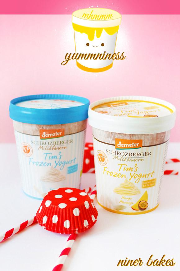 Tim's Frozen Yogurt - Vorstellung bei niner bakes