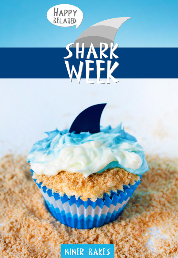 happy belated shark week by niner bakes