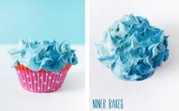 Summertime, Vacation time} Beach, Ocean & Shark Cupcakes | niner bakes