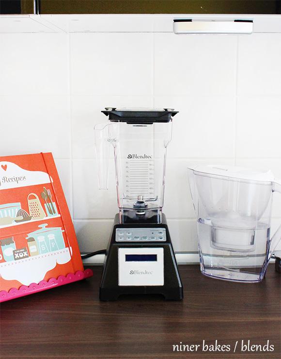 Blendtec Blender / Mixer - niner bakes - Peanut Butter Smoothie Recipe Rezept