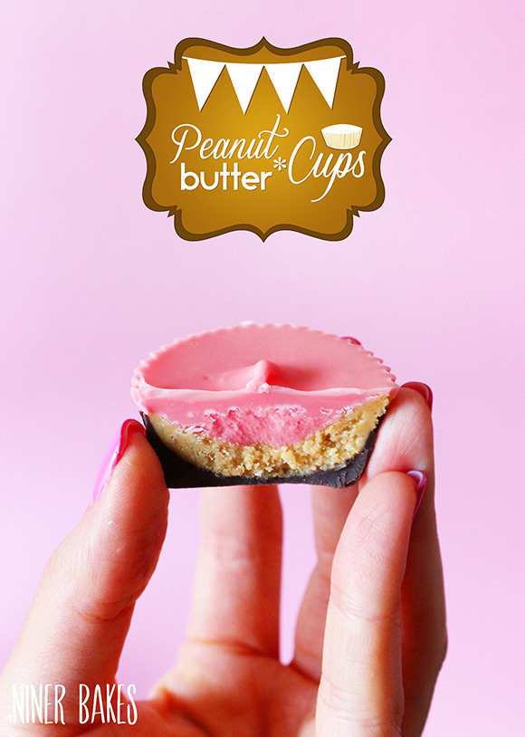 How to make peanut butter cups - erdnuss buttter - by niner bakes