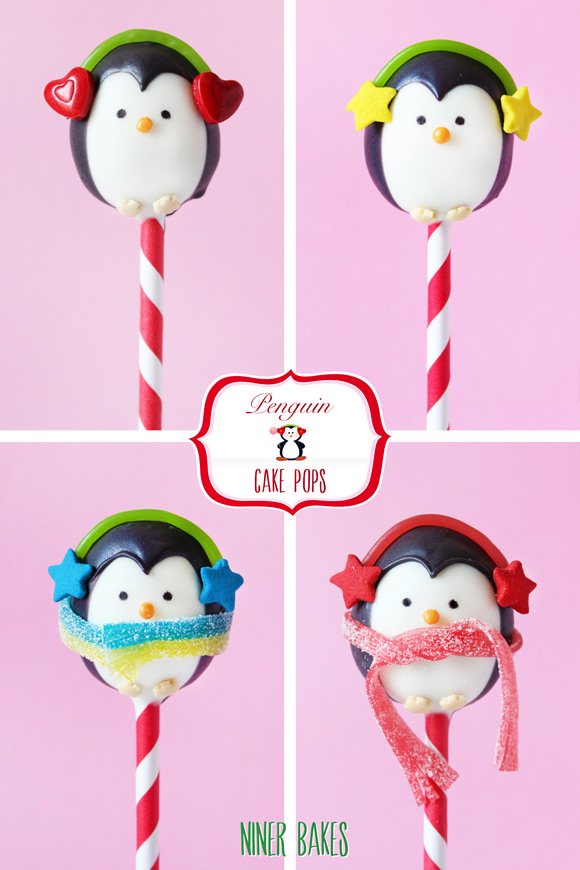 How to make penguin cake pops - tutorial by niner bakes - how to