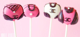 {Tutorial} How to make Chanel Handbag Cake Pops