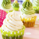 How Matcha Green Can YOU Get? Green Vegan Matcha Cupcakes