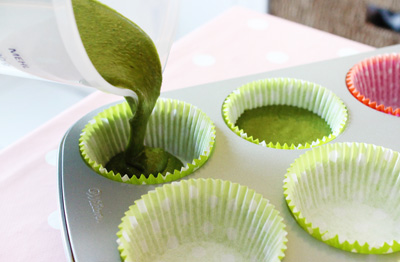 Vegan Green Tea Matcha Cupcakes Recipe - by niner bakes - How Matcha Green Can you get