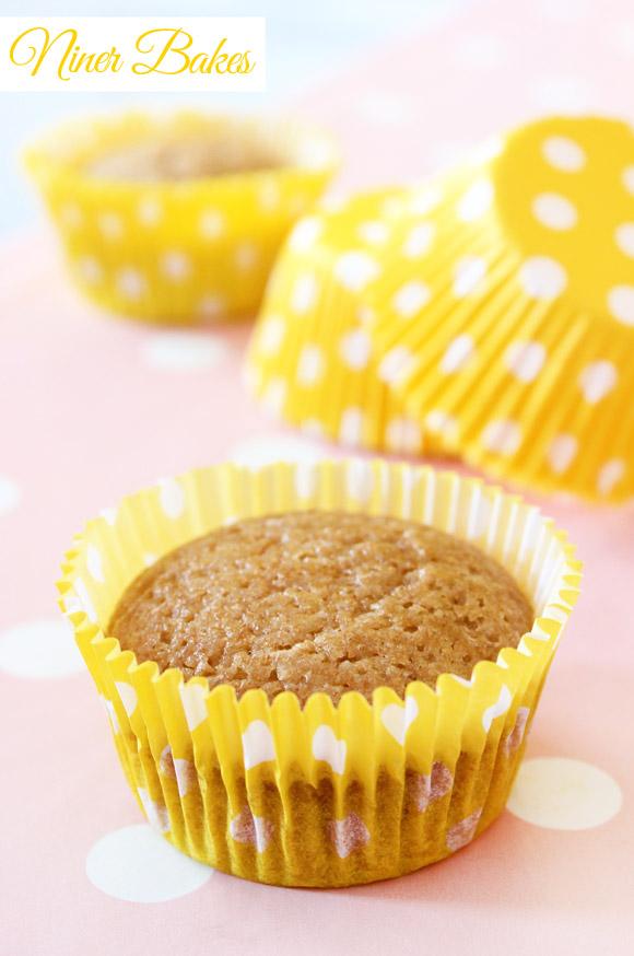 Vegan Vanilla cupcakes recipe by niner bakes