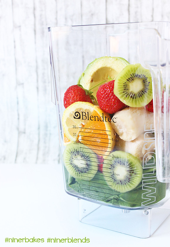 The formula to get your green on - Green Smoothies for beginners, easy recipes, testimony from niner bakes, niner blends. How to make green smoothies with your Blendtec, best blender in the world.