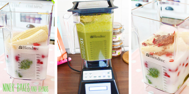 So yum and healthy: Slushie like Green Smoothie