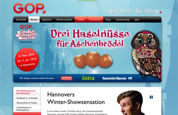 Drei Haselnüsse für Aschenbrödel - Kinder Weihnachtsmusical Hannover - GOP-Varieté - Eulen Owl Cake Pops - niner bakes