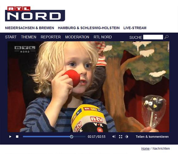 Drei Haselnüsse für Aschenbrödel - Kinder Weihnachtsmusical Hannover - GOP-Varieté - Eulen Owl Cake Pops - niner bakes RTL Nord