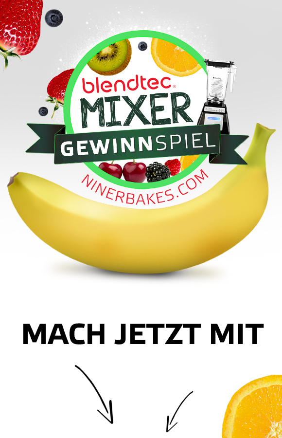 Weltbester Hochleistungsmixer - Blendtec Total Blender Gewinnspiel - niner blends - Mach jetzt und gewinne