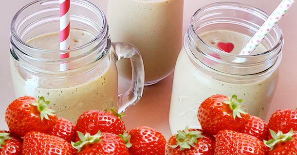 Niner's Strawberry Power Smoothie