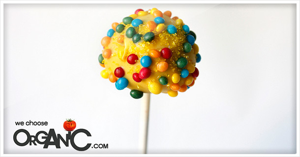Bright summer colors: Cake Pops