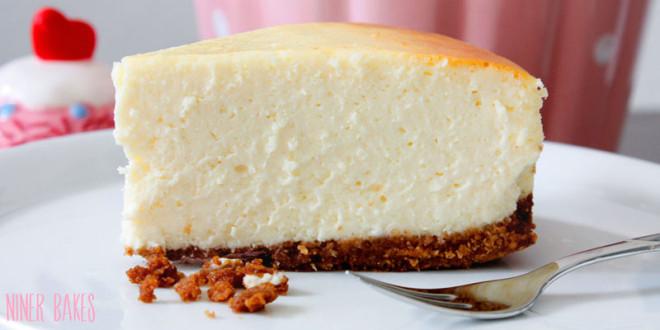 Klassischer New York Style Cheesecake, besser geht's nicht!