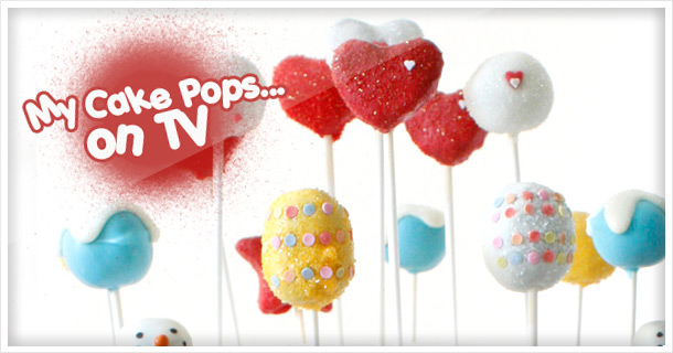 Valentine's Day Special: My Cake Pops & Cupcakes on German TV show