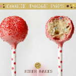 Cookie Dough Cake Pops by niner bakes - recipe and how to instructions - cookie dough lovers